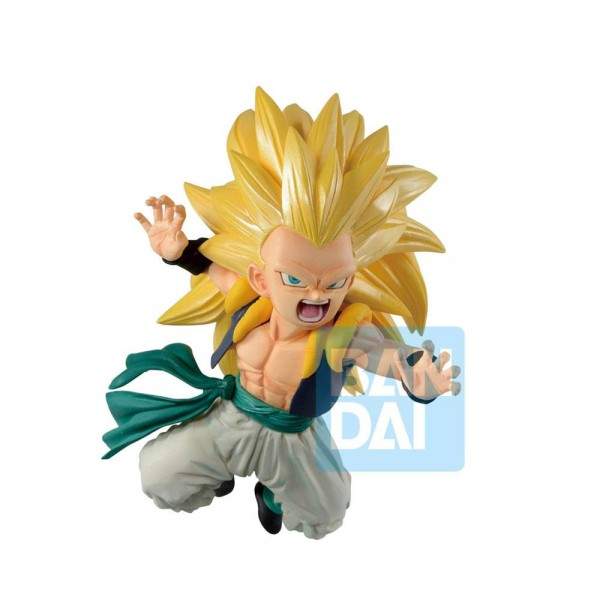 Dragon Ball Super - SSJ3 Gotenks Figur / Ichibansho - Rising Fighters: Bandai
