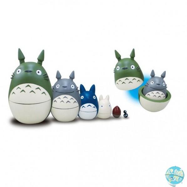 Studio Ghibli - Totoro Matrjoschka Puppen 6-teilig - Mein Nachbar Totoro: Benelic