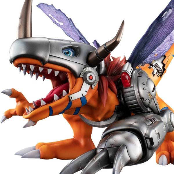 Digimon Adventure - Metal Greymon Statue / Precious G.E.M. Series: MegaHouse