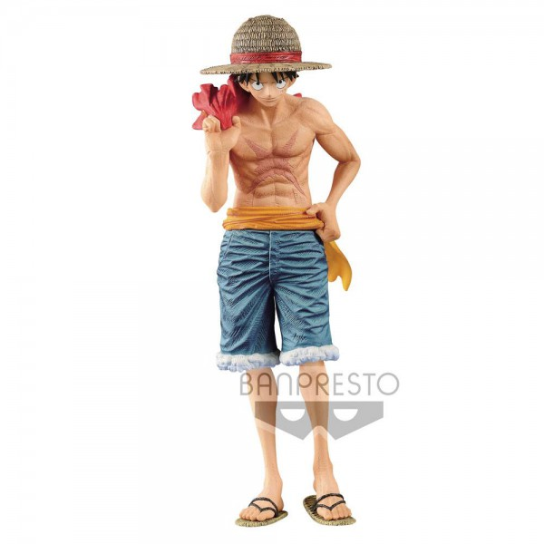 One Piece - Monkey D. Ruffy Figur / Magazine - Cover of 20th Anniversary: Banpresto