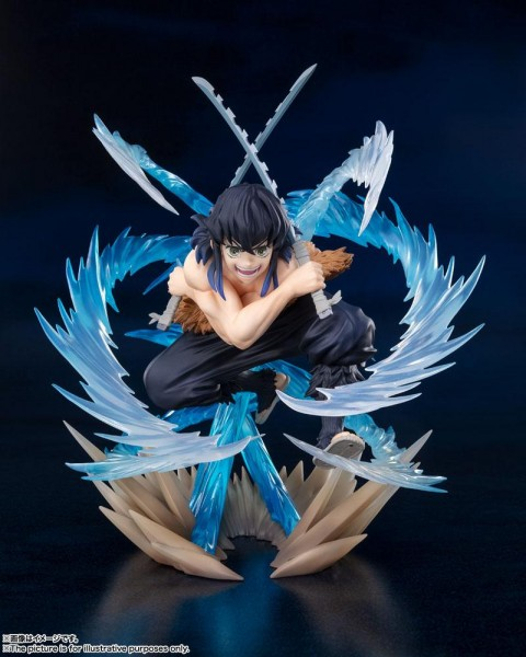 Demon Slayer: Kimetsu no Yaiba - Inosuke Hasiraba Figur / FiguartsZERO - Beast Breathing: Tamashii N