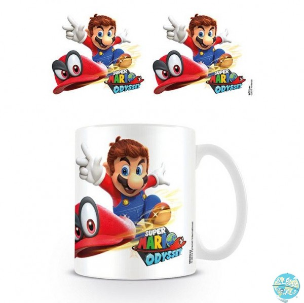 Nintendo - Super Mario Odyssey Tasse - Cappy Throw: Pyramid