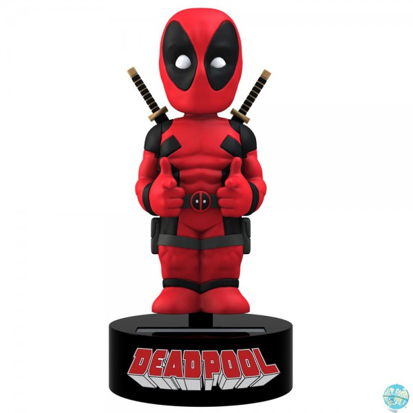 Marvel Comics Deadpool Wackelfigur - Body Knocker: NECA