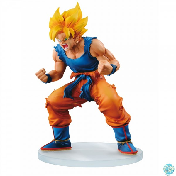 Dragonball Z - SSJ Son Goku Figur - Dramatic Showcase: Banpresto