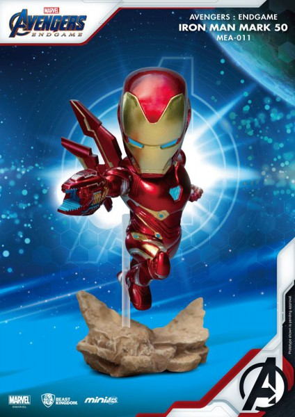 Avangers - Iron Man Figur / Mini Egg Attack : Beast Kingdom Toys