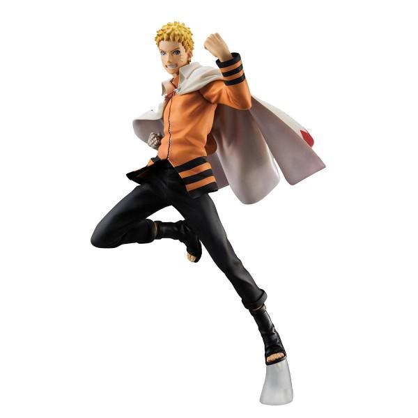 Naruto Shippuden - Uzumaki Naruto Statue - G.E.M. / Nanadaime Hokage Version: MegaHouse