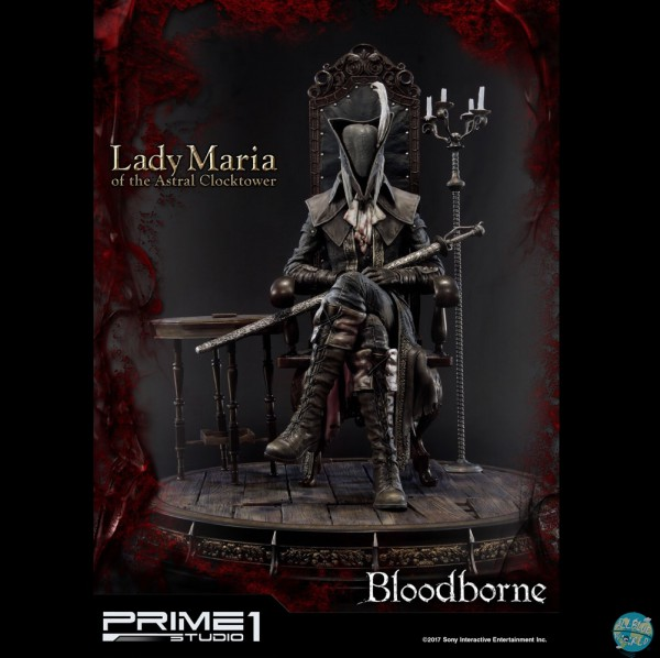 Bloodborne The Old Hunters - Lady Maria of the Astral Clocktower Statue: Prime 1 Studio