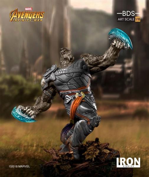 Avengers Infinity War - Cull Obsidian Statue / BDS Art: Iron Studios