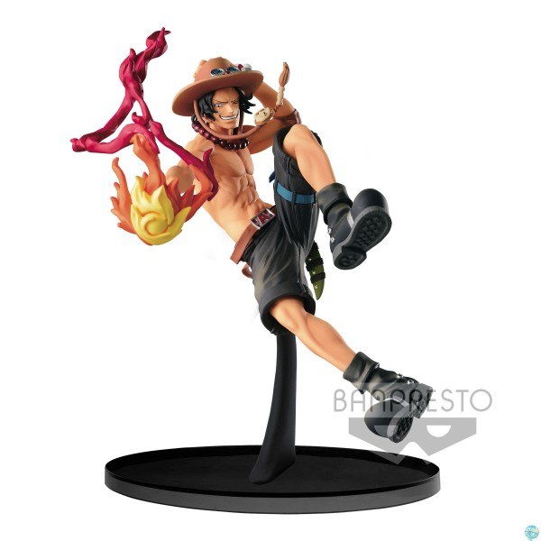 One Piece - Portgas D. Ace Figur - Scultures Big Zoukeio 6: Banpresto