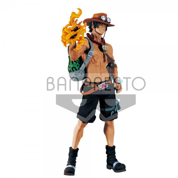 One Piece - Portgas D. Ace Figur / Big Size: Banpresto