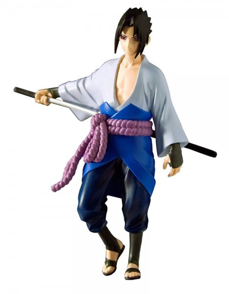 Naruto Shippuden - Sasuke Figur: Toynami