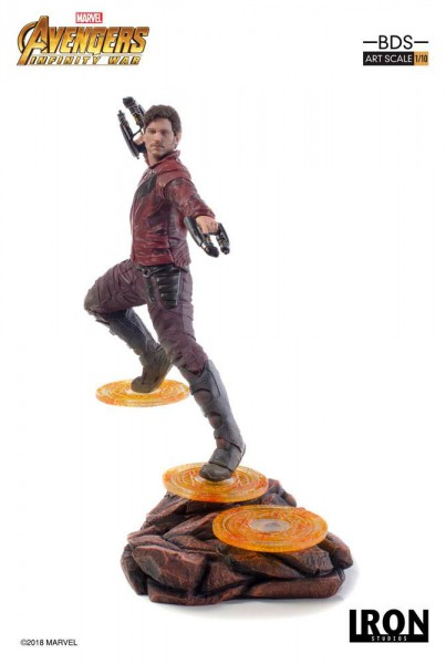 Avengers Infinity War - Star-Lord Statue / BDS Art Scale: Iron Studios