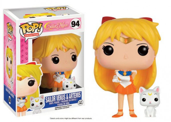 Sailor Moon - Sailor Venus & Artemis Figur - POP: Funko