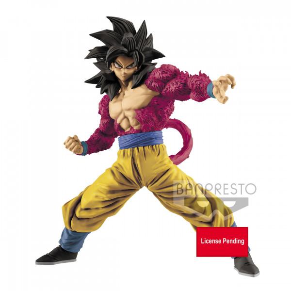 Dragonball GT - SSJ4 Son Goku Figur / Full Scratch: Banpresto