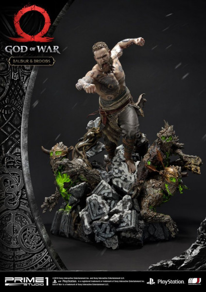 God of War - Baldur & Broods Statue: Prime 1 Studio