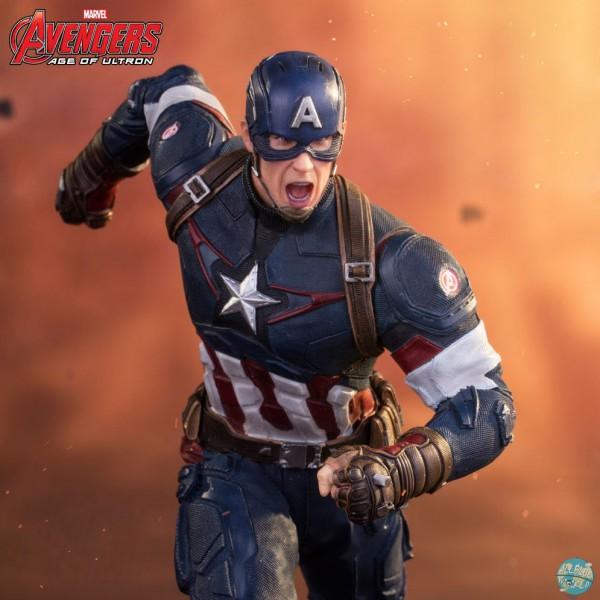 Avengers AOU Captain America Statue: Iron Studios