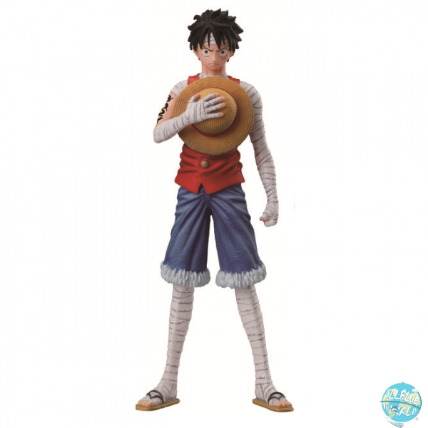 One Piece Ruffy Figur - Styling 3D2Y: Bandai