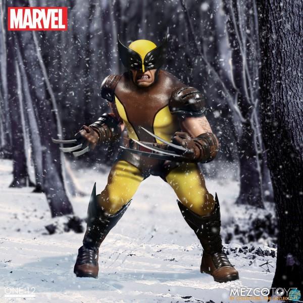 Marvel Universe - Wolverine Actionfigur: Mezco