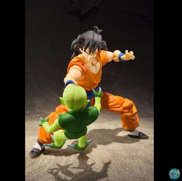 Dragonball Z - Yamchu Actionfigur mit Saibamen-Figur - S.H.Figuarts: Bandai
