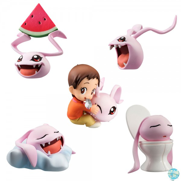 Digimon Adventure - Minifiguren-Set - 5er-Pack / Coro-Colle!: MegaHouse