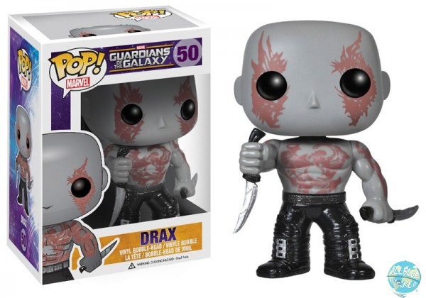 Guardians of the Galaxy Funko POP! Vinyl Figur Drax The Destroyer 10 cm