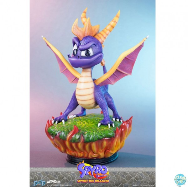 Spyro the Dragon - Spyro Statue: First 4 Figure