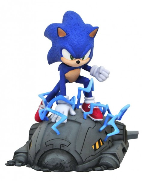 Sonic the Hedgehog Movie - Sonic Statue: Diamond Select
