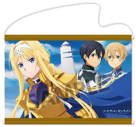 Sword Art Online - Alice & Kirito & Eugeo Wallscroll: Hobby Stock