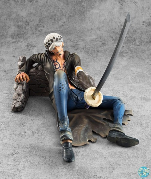 One Piece - Trafalgar Law Statue - P.O.P Excellent Model / VS Version Limited Edition: MegaHouse