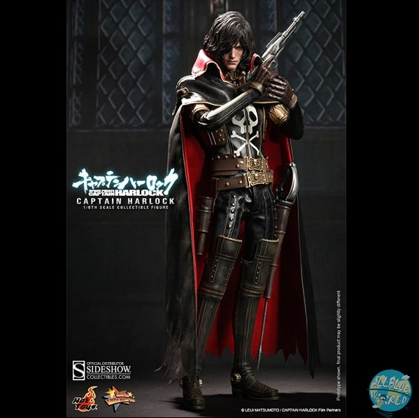 Captain Harlock - Captain Harlock Actionfigur: Hot Toys