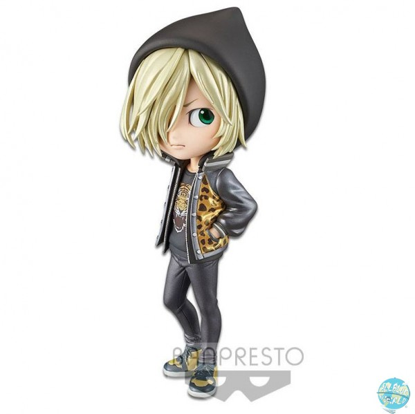 Yuri!!! on Ice - Yuri Plisetsky Minifigur - Q Posket / Special Color: Banpresto