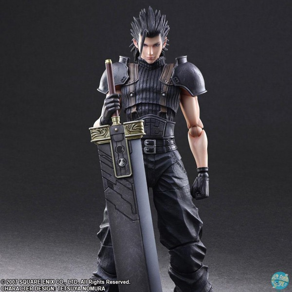 Final Fantasy VII Crisis Core - Zack Actionfigur - Play Arts Kai: Square Enix