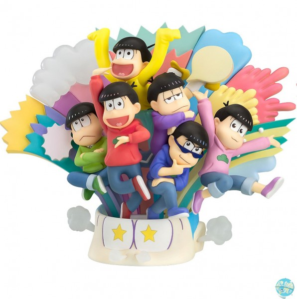 Osomatsu-san - Matsuno Brothers Diorama: Orange Rouge