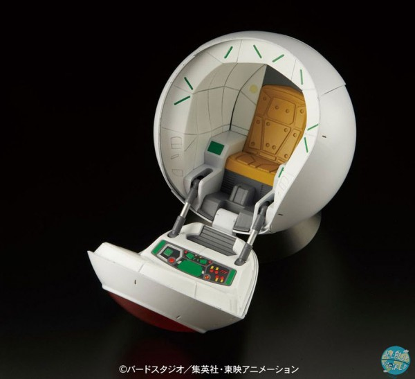 Dragonball Z - Saiyan Space Pod Actionfiguren-Zubehör - Figure-rise Effect: Bandai