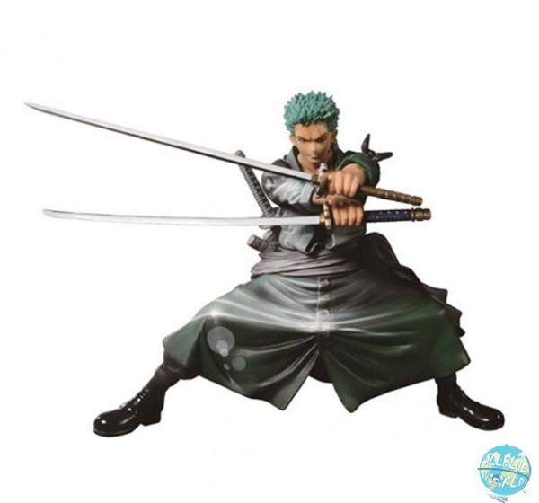 One Piece - Zorro Figur - SCultures Big Zoukeio / Shining Color Version: Banpresto