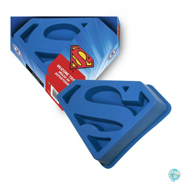 DC Comics Silikon-Backform Superman Logo