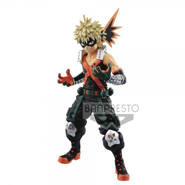 My Hero Academia - Katsuki Bakugo Figur / Texture: Banpresto