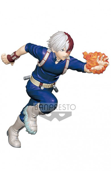 My Hero Academia - Shoto Todoroki Figur / Enter the Hero: Banpresto