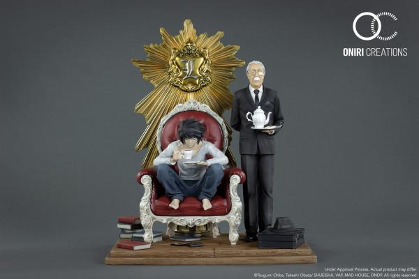 Death Note - L & Watari Diorama: Oniri Creations
