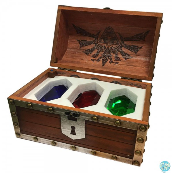 Legend of Zelda - Briefbeschwerer 3er-Pack Rubin-Truhe