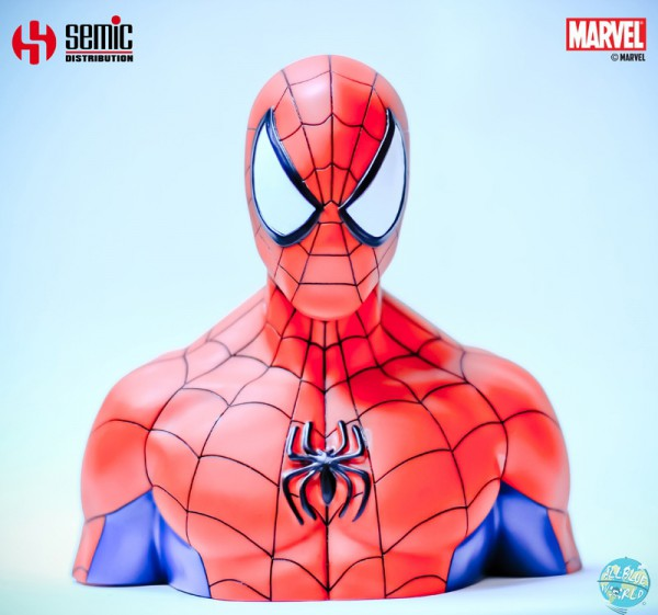 Marvel Comics - Spider-Man Spardose: Semic