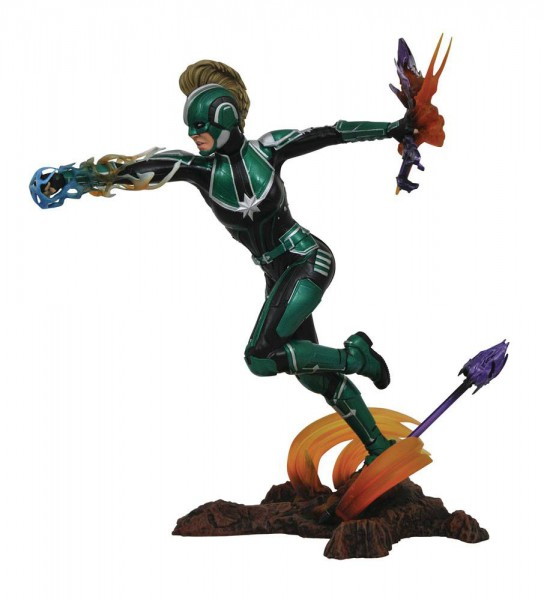 Marvel - Captain Marvel Statue / Marvel Movie Gallery: Diamond Select