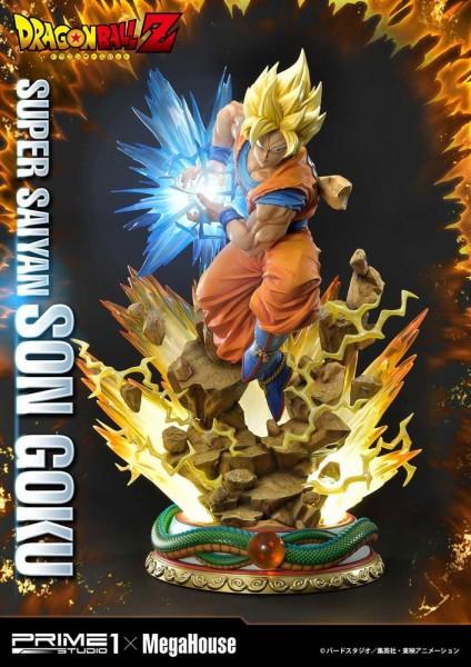 Dragon Ball Z - Super Saiyajin Son Goku Statue: Prime 1 Studio