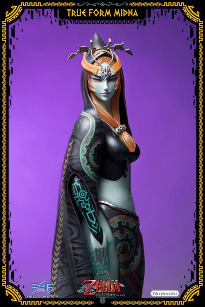 The Legend of Zelda Twilight Princess - Midna Statue / True Form - Normale Version: First 4 Figures
