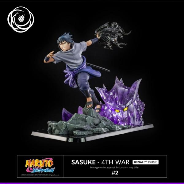 Naruto Shippuuden - Sasuke Uchiha Statue / Ikigai - 4th War: Tsume