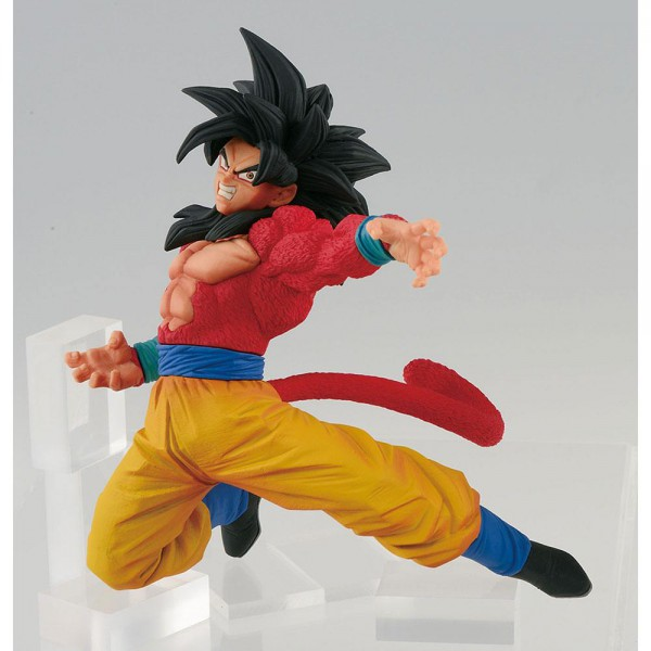 Dragon Ball Super - SSJ 4 Son Goku Figur / FES: Banpresto