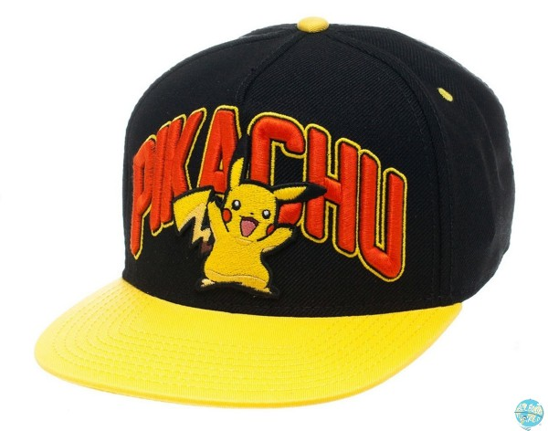 Pokemon - Pikachu Hip Hop Cap - Snap Back: Bioworld