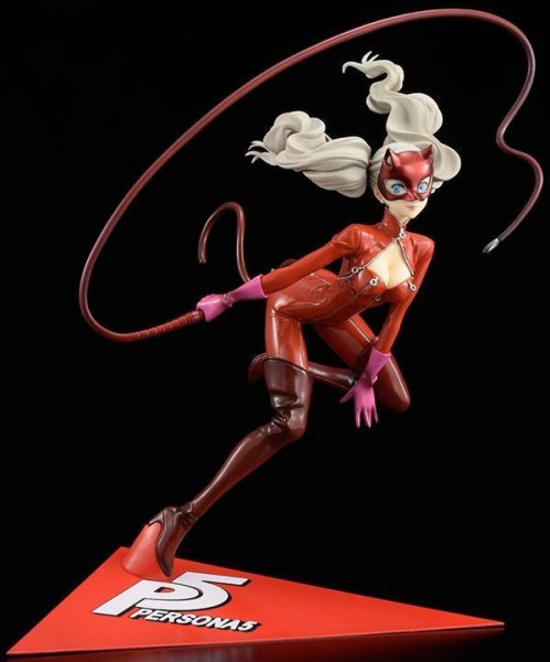 Persona 5 - Ann Takamaki Statue / Kaitou Version - Red Base Repaint: Hobby Japan