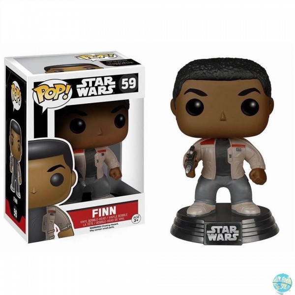 Star Wars Episode VII - Finn Figur - POP: Funko