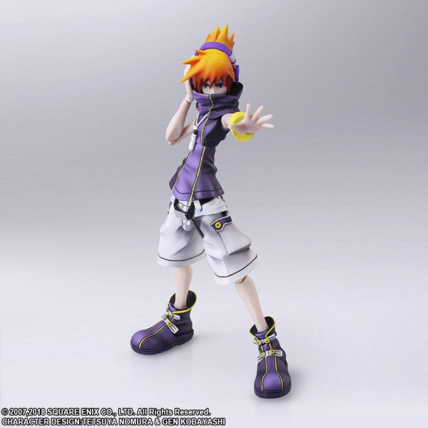 The World Ends with You - Neku Sakuraba Actionfigur / Bring Arts: Square Enix